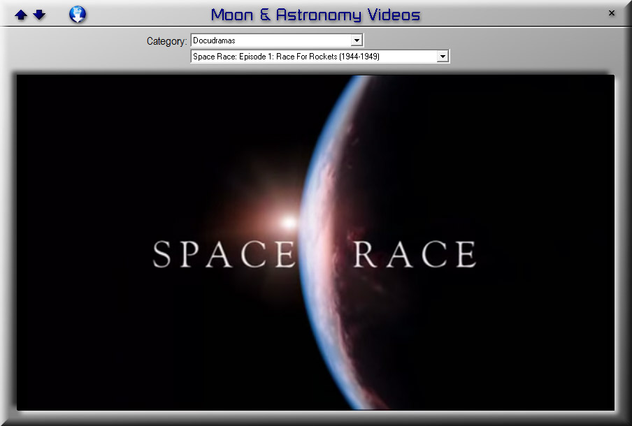 LunarPhase Pro 4 Astronomy Videos Screen