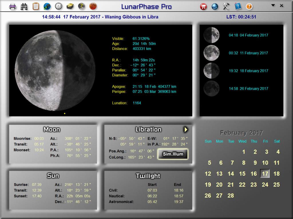 LunarPhase Pro Version 4