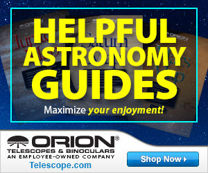 Orion Telescopes Helpful Astronomy Guides