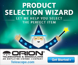Orion Telescopes Product Selection Wizard